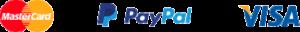 MasterCard, PayPal, Visa